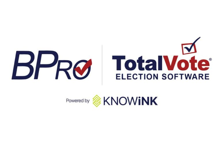 knowink products - Bpro TotalVote